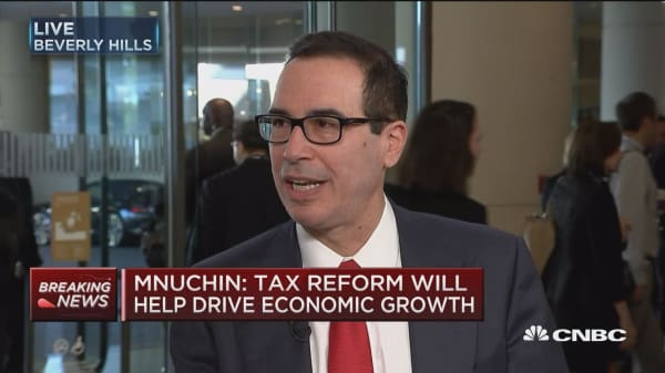 Treasury Secretary Mnuchin breaks down the White House's tax plan