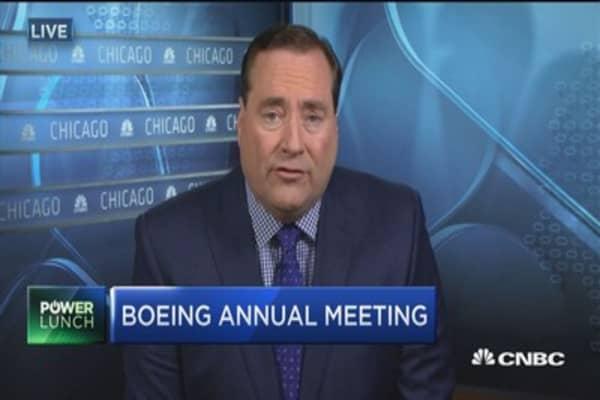 Boeing CEO: Iran plane sale making progress