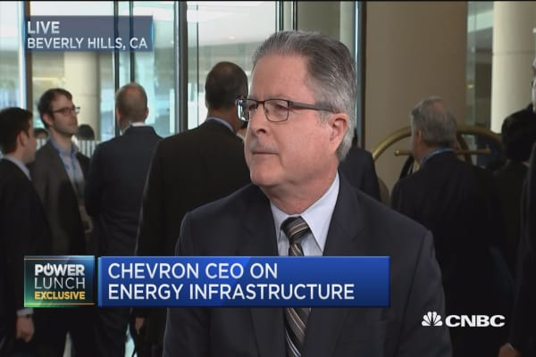 Chevron CEO: Government should look at existing revenue sources before looking at gas taxes