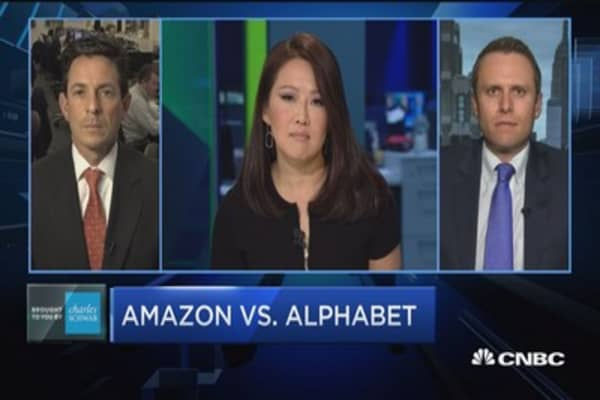 Amazon and Alphabet: The race to $1000 a share