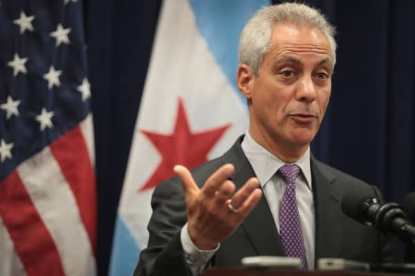Chicago Mayor Rahm Emmanuel