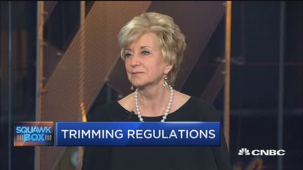 Regulatory reform rollback helps small biz: Linda McMahon