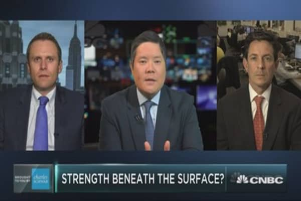 Market strength beneath the surface?