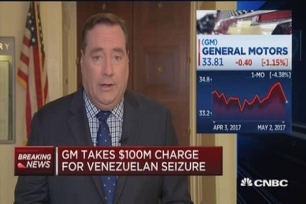 GM auto sales drop 5.8% in April