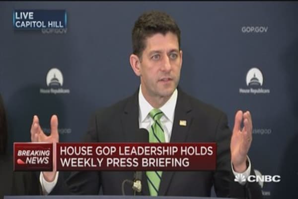 Speaker Ryan: Spending bill contains no new Obamacare money