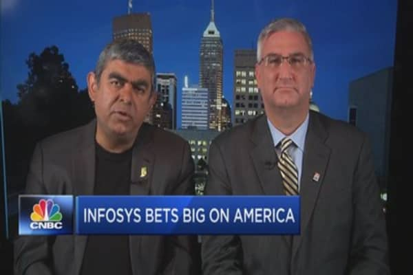 Infosys pledges to create 10,000 American jobs