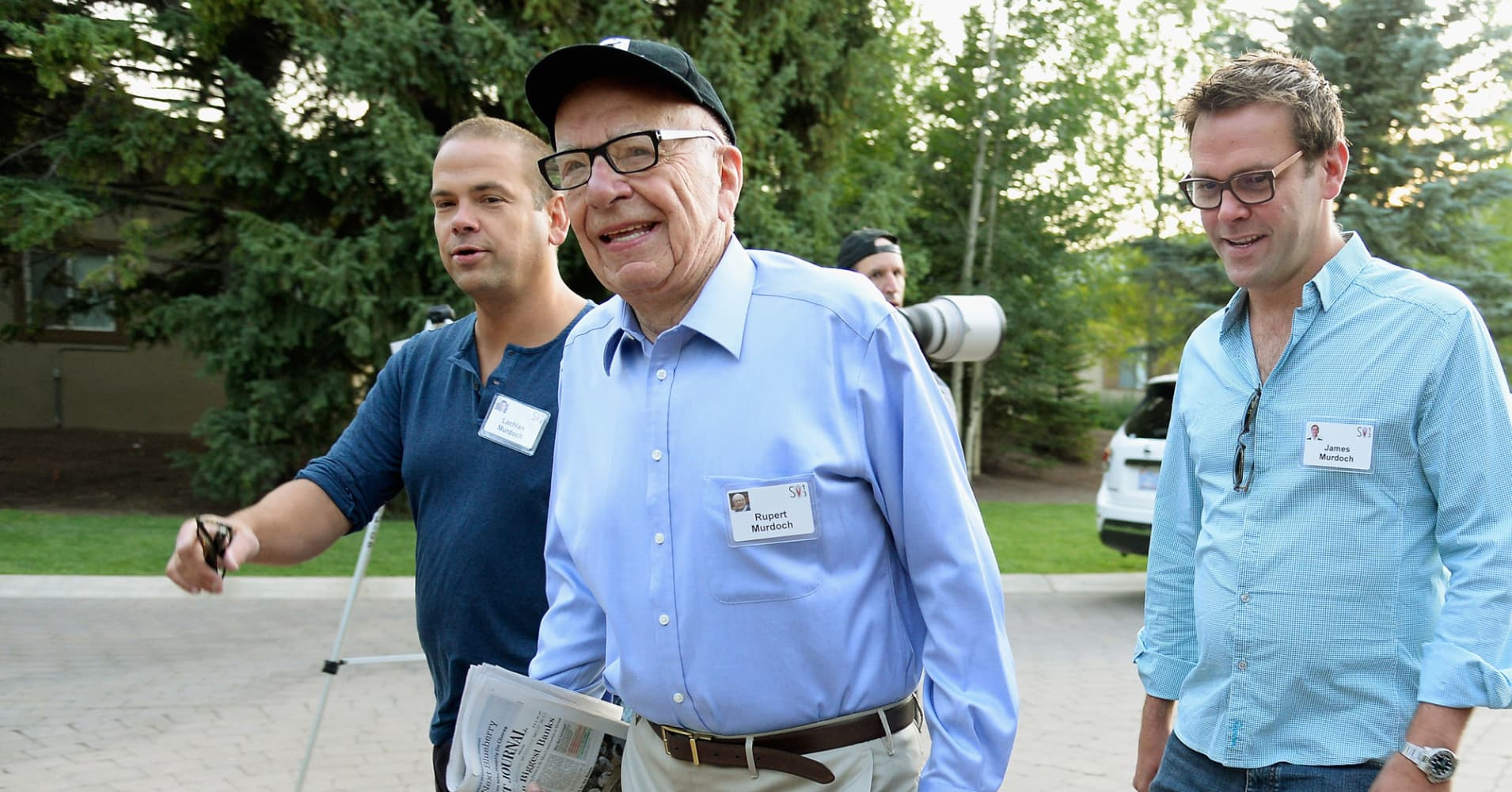 With Disney deal looming, Murdoch's empire is fractured