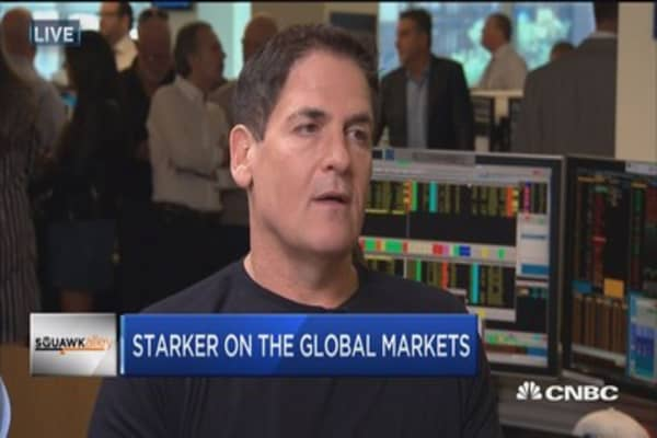 Mark Cuban: Give Trump a C- for first 100 days