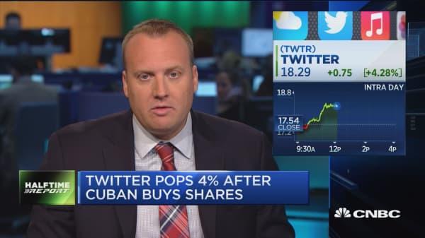 Mark Cuban & the Twitter pop