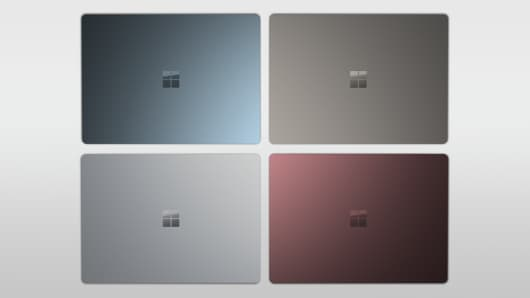 Handout: Surface Laptop 2