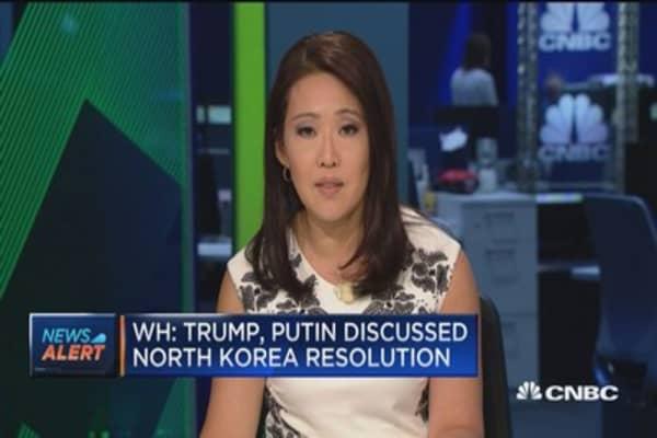 WH: Trump had a good conversation with Putin
