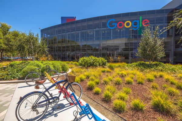 Google's Mountain View, Calif., headquarters.