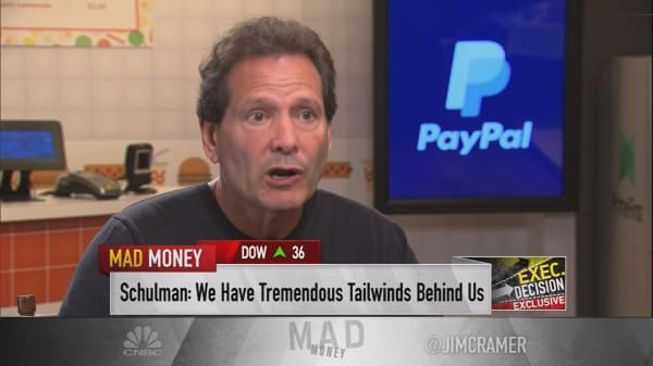 PayPal CEO points to 2 trends fueling its success