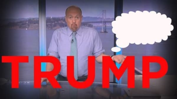 Cramer Remix: Why you shouldn't base your investments off Trump's erratic behavior