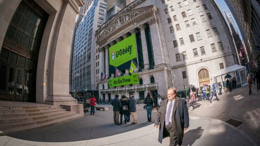 GoDaddy is going global with its expansion plans.
