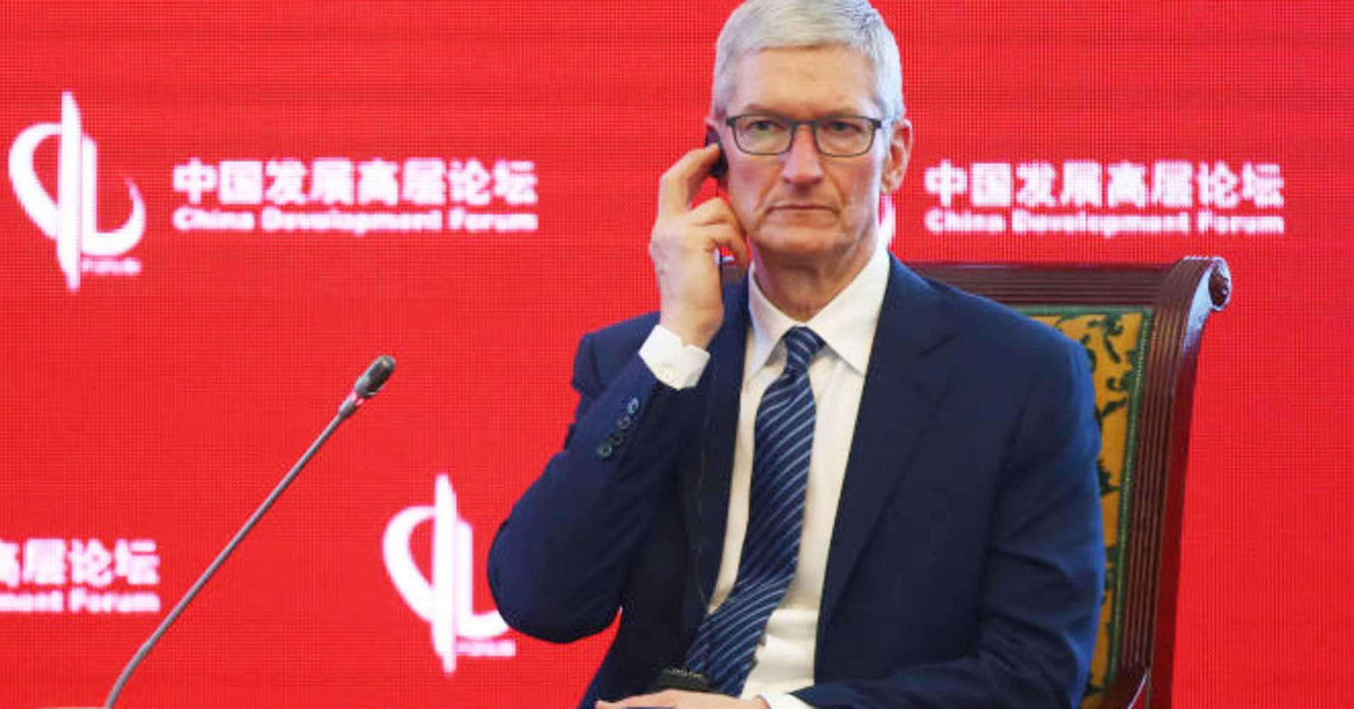 Tim Cook says he isn't worried about traveling to China after the Huawei CFO's arrest