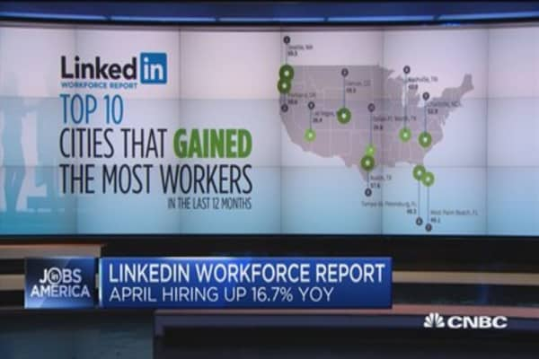 LinkedIn report shows jobs fueled primarily by 3 industries