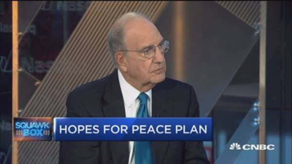 Sen. George Mitchell: Two-state deal not likely at this time