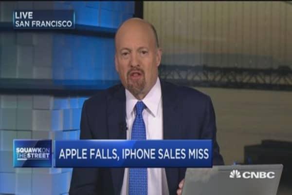 Don't get too 'granular' on Apple: Cramer