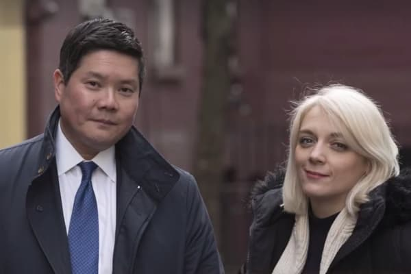Dom Chu and Carly Ann Filbin