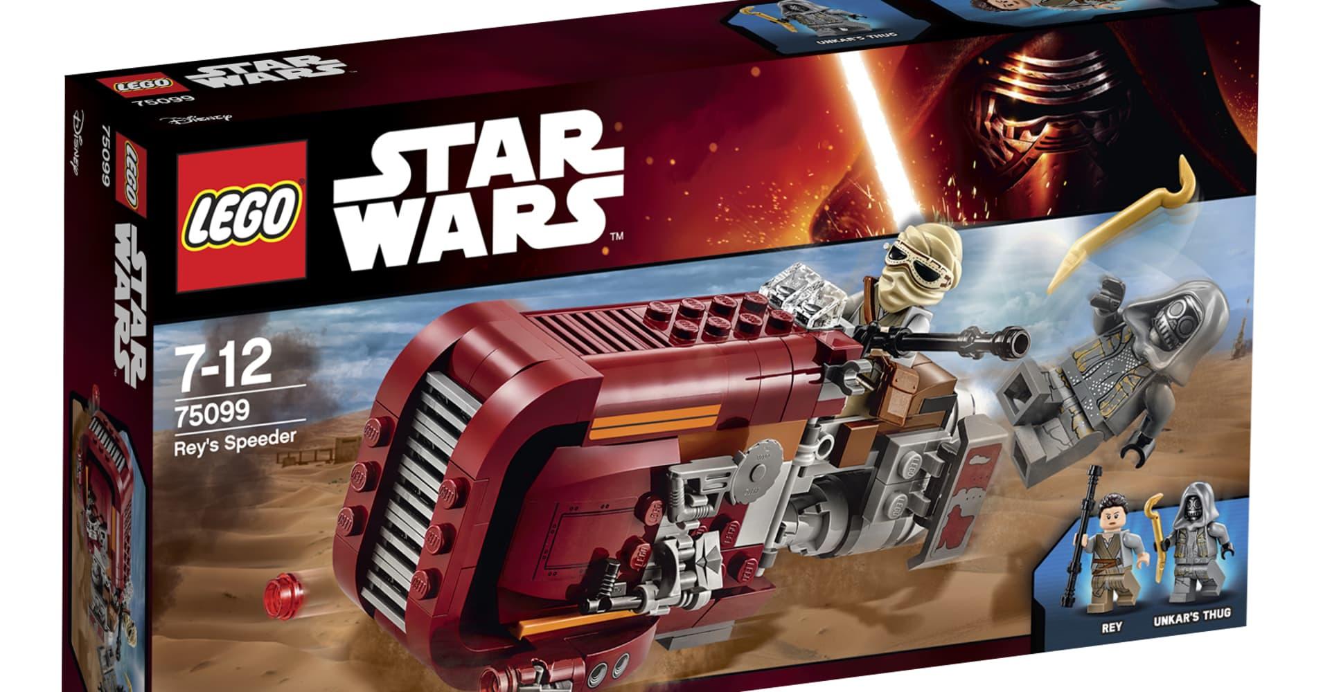 Star Wars Lego prototype development