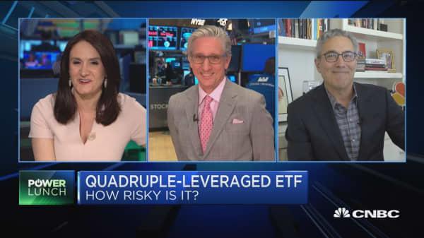 The new risky ETF: Quadruple-leveraged fund