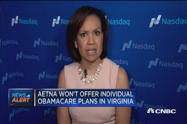 Aetna won't offer individual Obamacare plans in Virginia