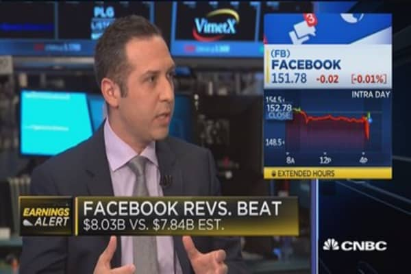 Facebook daily active users up 18% year-over-year