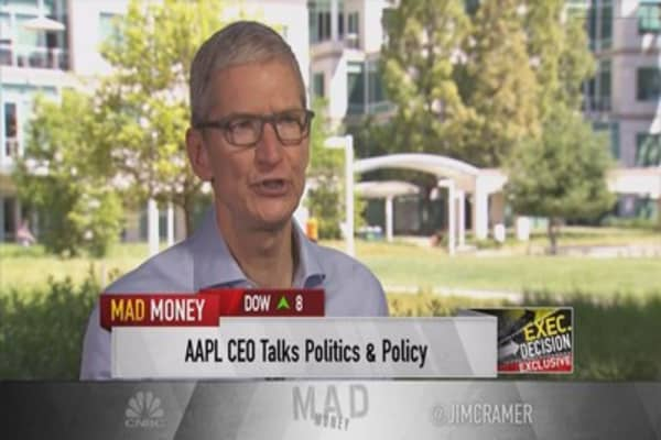 Jim Cramer interviews Tim Cook: The full interview