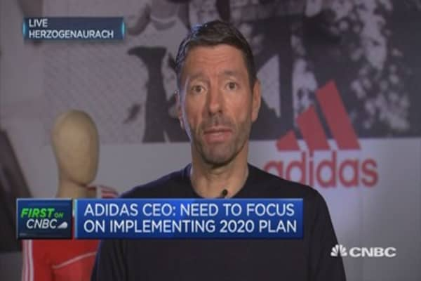 Political uncertainity not translated into business uncertainity yet: Adidas CEO