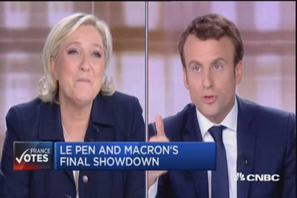 Fiery face-off in France as Le Pen and Macron battle in final showdown