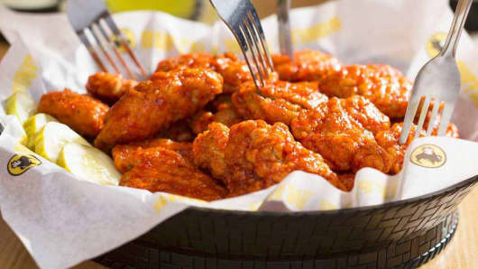 Buffalo Wild Wings stock soars on report of takeover offer