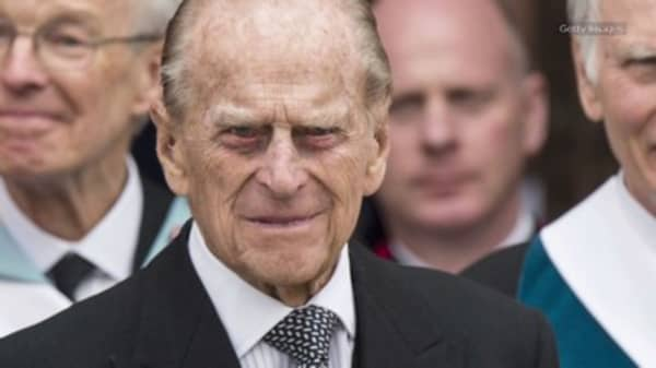Buckingham Palace announces that Prince Philip will retire at age 96