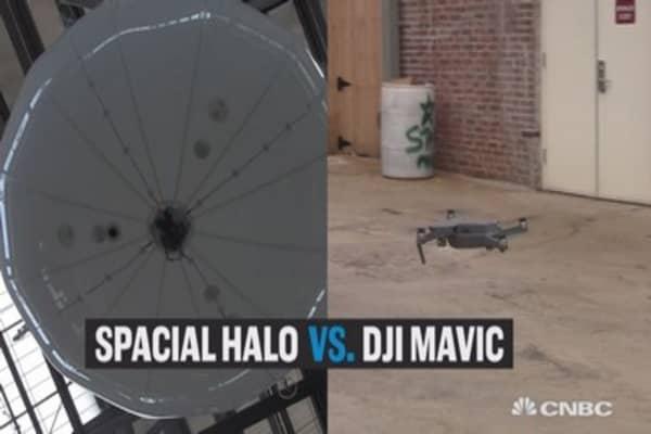 Spacial Halo vs. DJI Mavic