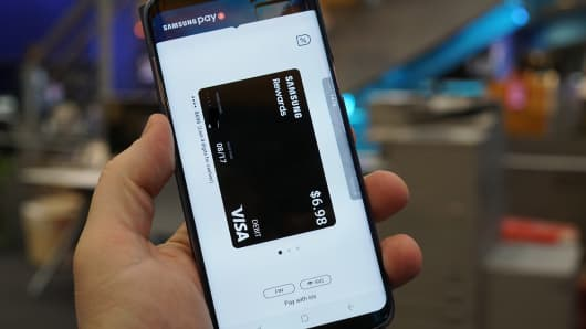 CNBC Tech: Samsung Pay