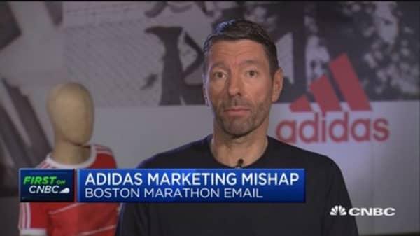 Adidas Amministratore Delegato: Spero Che I Clienti Ci Perdoni Per La Maratona Di Boston E - Mail