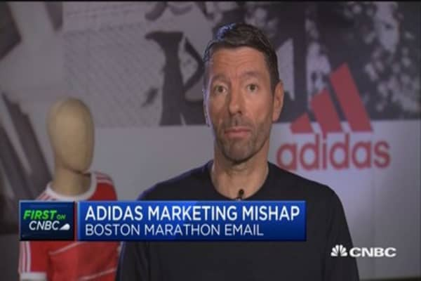 Adidas CEO: We're taking market share in pretty much all markets we're in