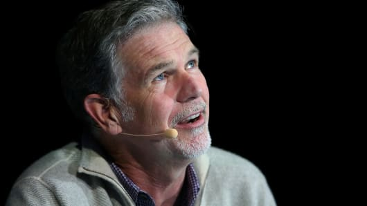 Reed Hastings, co-founder and CEO of Netflix.