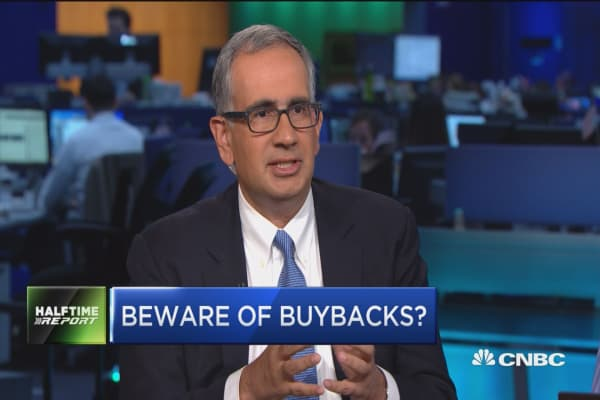 Buybacks: A short-term fix that's bad in the long run?