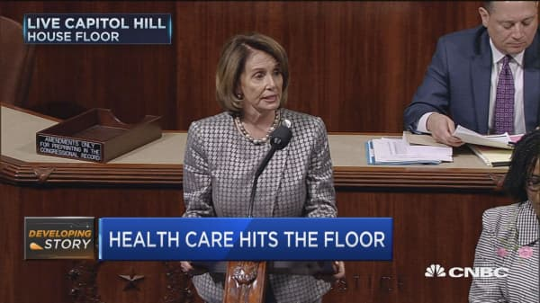 Pelosi: We urge the full House to reject health bill