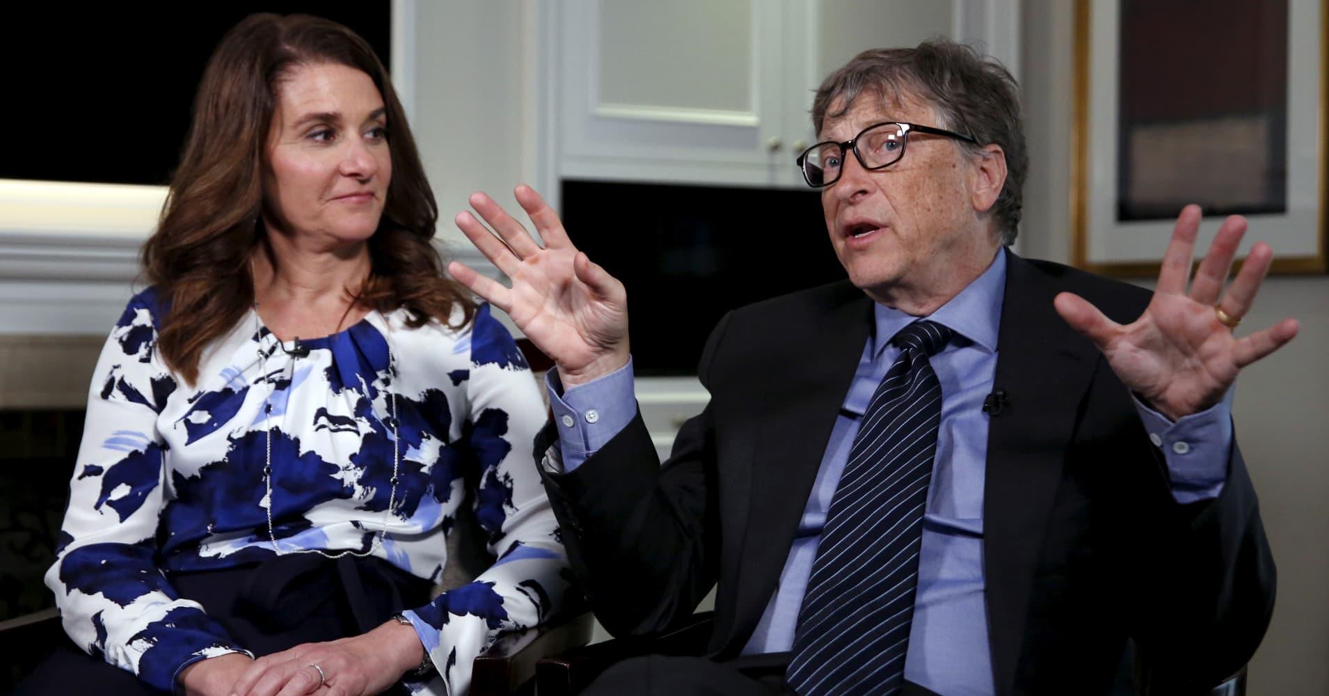 Why Bill And Melinda Gates Give Away Billions