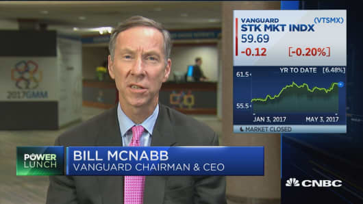 Vanguard CEO: Cost really matters to the end investor