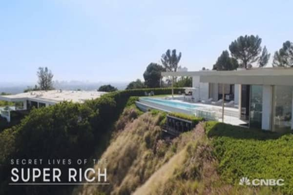 An exclusive look inside a $100 million Beverly Hills mansion