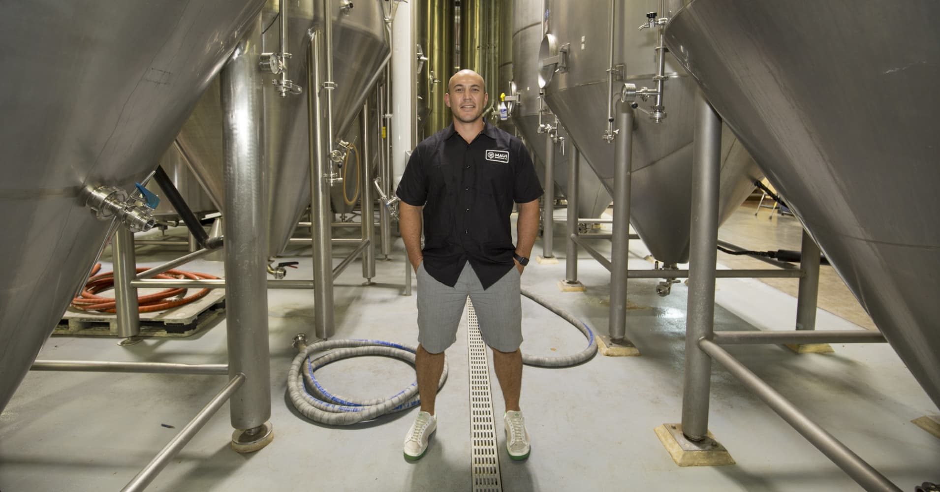 Garrett Marrero, co-founder of Maui Brewing Company