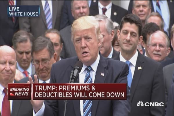 Pres. Trump: This has brought the GOP together