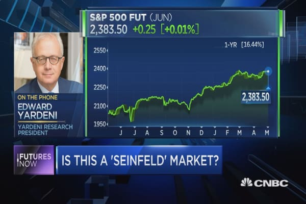 This is a 'Seinfeld' market: Yardeni