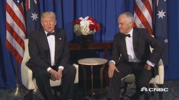 Trump: Australia has 'better health care than we do'