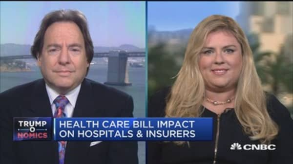 Health-care bill impact on hospitals and insurers