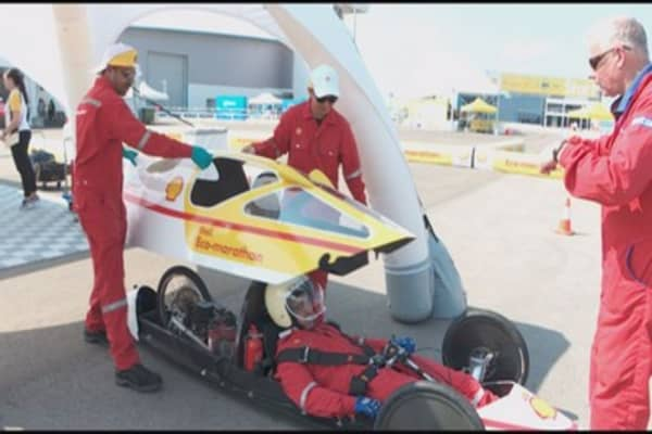 Is this the world's most energy efficient vehicle?