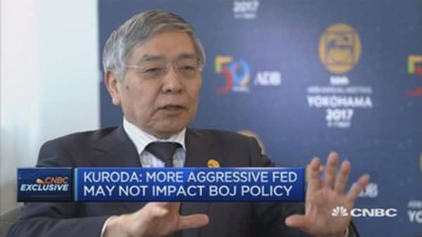 Japan is no longer in deflationary situation: BOJ's Kuroda